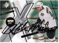 MIKE MODANO DALLAS STARS AUTOGRAPHED HOCKEY CARD #22511G