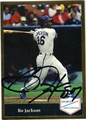 BO JACKSON CHICAGO WHITE SOX AUTOGRAPHED BASEBALL CARD #22513C