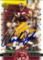 CHARLEY TAYLOR AUTOGRAPHED FOOTBALL CARD #22512E