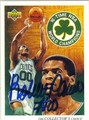 ROBERT PARISH AUTOGRAPHED BASKETBALL CARD #22612E