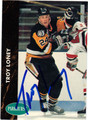 TROY LONEY AUTOGRAPHED HOCKEY CARD #22612M