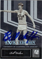 BILL WALTON AUTOGRAPHED BASKETBALL CARD #22612S