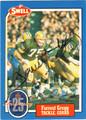 FORREST GREGG AUTOGRAPHED FOOTBALL CARD #22712J