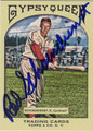 RED SCHOENDIENST ST LOUIS CARDINALS AUTOGRAPHED BASEBALL CARD #22712K