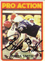 BUBBA SMITH AUTOGRAPHED VINTAGE FOOTBALL CARD #22712X