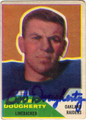 BOB DOUGHERTY OAKLAND RAIDERS AUTOGRAPHED VINTAGE FOOTBALL CARD #22713F