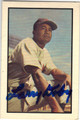 LARRY DOBY CLEVELAND INDIANS AUTOGRAPHED BASEBALL CARD #22713D