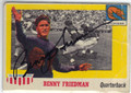 BENNY FRIEDMAN UNIVERSITY OF MICHIGAN AUTOGRAPHED VINTAGE FOOTBALL CARD #22813A