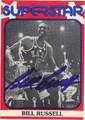 BILL RUSSELL BOSTON CELTICS ALL-STAR AUTOGRAPHED VINTAGE BASKETBALL CARD #22813K