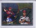 Pat Burrell & Eric Valent Dual Autographed Baseball Card 2375