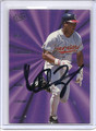 Manny Ramirez Autographed Baseball Card 2419