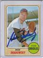 Moe Drabowsky Autographed Baseball Card 2615