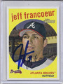 Jeff Francoeur Autographed Baseball Card 2551