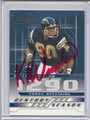 KELLEN WINSLOW SR SAN DIEGO CHARGERS AUTOGRAPHED & NUMBERED FOOTBALL CARD #10815A