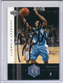 Carmelo Anthony Autographed Basketball Card 2750