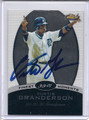 Curtis Granderson Autographed Baseball Card 2763