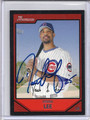Derrek Lee Autographed Baseball Card 2791