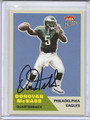 Donovan McNabb Autographed Football Card 2872