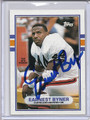 Earnest Byner Autographed Football Card 2876