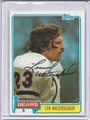 Len Walterscheid Autographed Football Card 2908