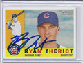 Ryan Theriot Autographed Baseball Card 2801