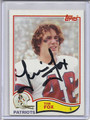 Tim Fox Autographed Football Card 2934