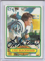 Lyle Blackwood Autographed Football Card 2909