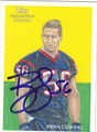 BRIAN CUSHING AUTOGRAPHED ROOKIE FOOTBALL CARD #30212F