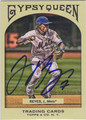 JOSE REYES NEW YORK METS AUTOGRAPHED BASEBALL CARD #30213G