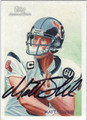 MATT SCHAUB AUTOGRAPHED FOOTBALL CARD #30312O