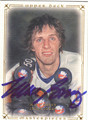 MIKE BOSSY NEW YORK ISLANDERS AUTOGRAPHED HOCKEY CARD #30413A