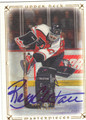 RON HEXTALL PHILADELPHIA FLYERS AUTOGRAPHED HOCKEY CARD #30513D