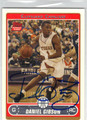 DANIEL GIBSON CLEVELAND CAVALIERS AUTOGRAPHED ROOKIE BASKETBALL CARD #30513H