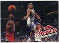 ALLEN IVERSON PHILADELPHIA 76ers AUTOGRAPHED BASKETBALL CARD #30613D