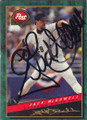 Jack McDowell Chicago White Sox Autographed Baseball Card 307