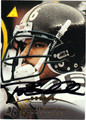 ROD WOODSON PITTSBURGH STEELERS AUTOGRAPHED FOOTBALL CARD #30712C