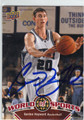 GORDON HAYWARD UTAH JAZZ AUTOGRAPHED ROOKIE BASKETBALL CARD #30713G