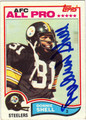 DONNIE SHELL AUTOGRAPHED VINTAGE FOOTBALL CARD #30812Y