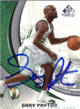 GARY PAYTON BOSTON CELTICS AUTOGRAPHED BASKETBALL CARD #30813B