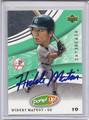 Hideki Matsui Autographed Baseball Card 3085