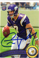 CHRISTIAN PONDER AUTOGRAPHED ROOKIE FOOTBALL CARD $30812H