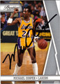 MICHAEL COOPER AUTOGRAPHED BASKETBALL CARD #30912B