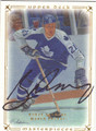 BORJE SALMING TORONTO MAPLE LEAFS AUTOGRAPHED HOCKEY CARD #30913C