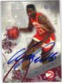 DOMINIQUE WILKINS ATLANTA HAWKS AUTOGRAPHED & NUMBERED BASKETBALL CARD #30913J