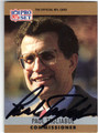 PAUL TAGLIABUE AUTOGRAPHED FOOTBALL CARD #31013C