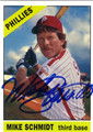 MIKE SCHMIDT PHILADELPHIA PHILLIES AUTOGRAPHED BASEBALL CARD #31013i