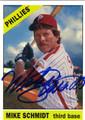 MIKE SCHMIDT PHILADELPHIA PHILLIES AUTOGRAPHED BASEBALL CARD #31013i