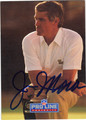 JIM MORA NEW ORLEANS SAINTS AUTOGRAPHED FOOTBALL CARD #31013J