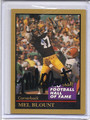 Mel Blount Autographed Football Card 3114