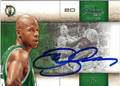 RAY ALLEN AUTOGRAPHED BASKETBALL CARD #31212J